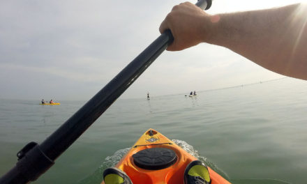 Your first sit on kayak outing