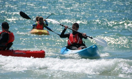 Sun, sea, sand and sit on tops – Shore Watersports Paddlesports Weekend
