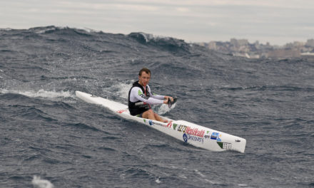 Puffing along – downwinding for sit on top kayakers
