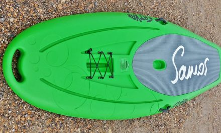 "Fatyak Samos 10' x 33"" rotomoulded stand up paddle board review"