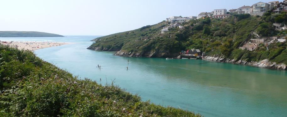 Crantock Bay, Cornwall