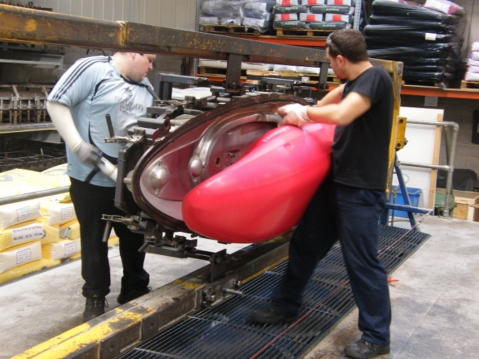 How kayaks are made – Palm Equipment factory tour