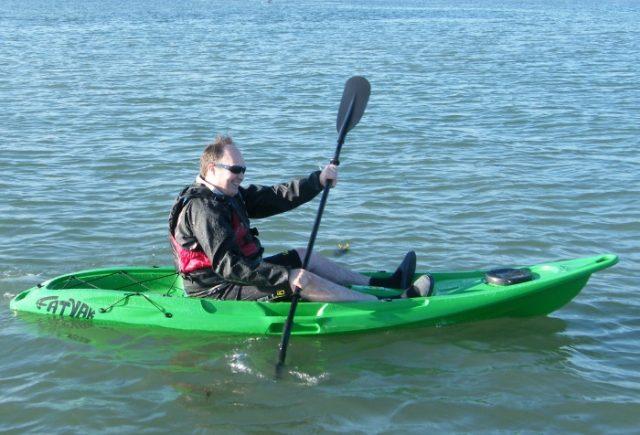 Kayak paddle length