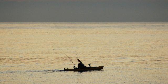 kayak fishing Demo Day
