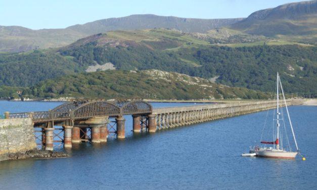 River Mawddach, Barmouth, Wales