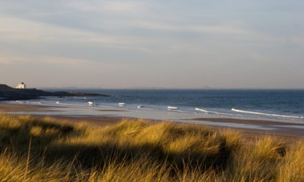 Bamburgh Beach, Northumberland