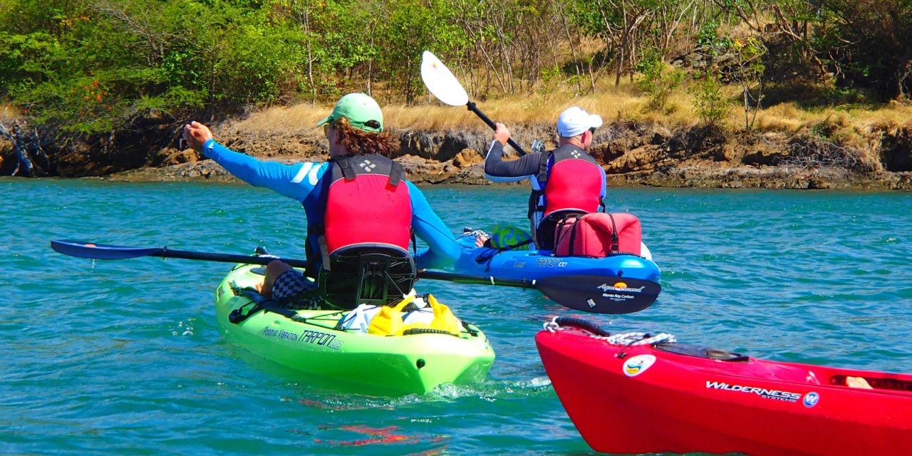 Spice Island kayaking – Grenadian paddling vibes