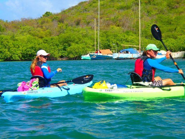 Grenada Kayaking