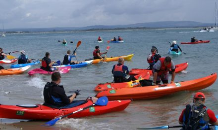 Kayak Around Hayling Island for charity