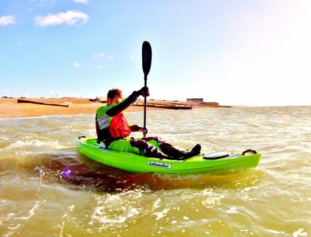 Winter paddling tips