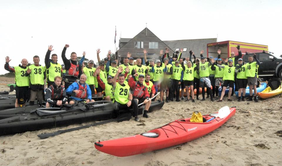 Round Hayling Island Kayak Event 2016