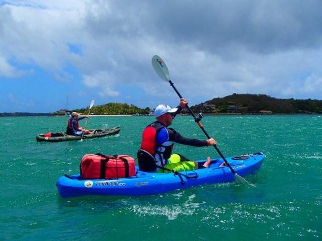 off season kayaking holiday