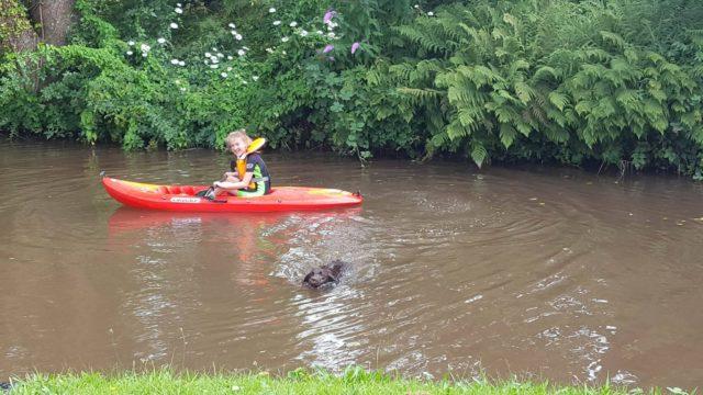 Teaching your kids to kayak
