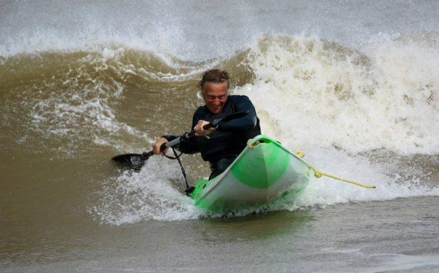 September surfing – sit on kayak style