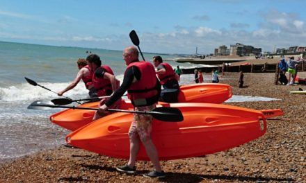 Fatyak hit Brighton for Paddle Round the Pier 2016