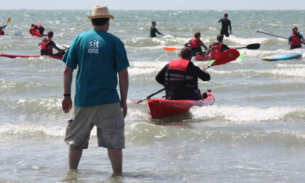 Paddletastic at the annual Shore Watersports demo weekend