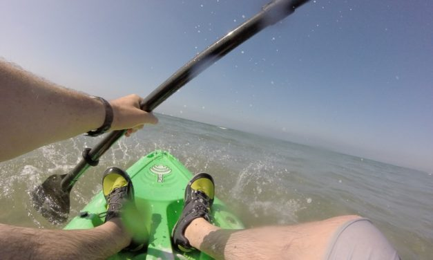 Cross Training with Kayaking