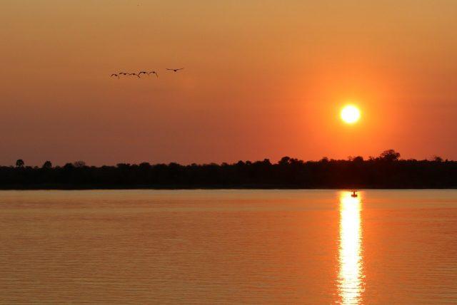 Kayak Zambezi River