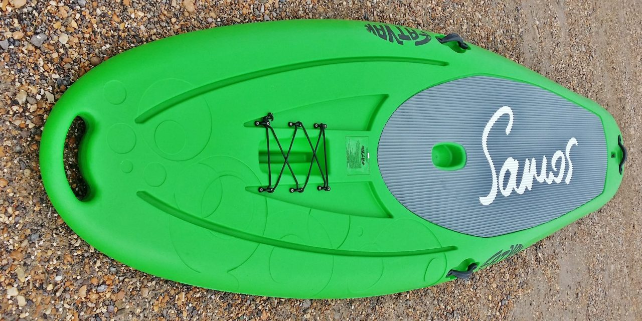 """Fatyak Samos 10' x 33"""" rotomoulded stand up paddle board review"""