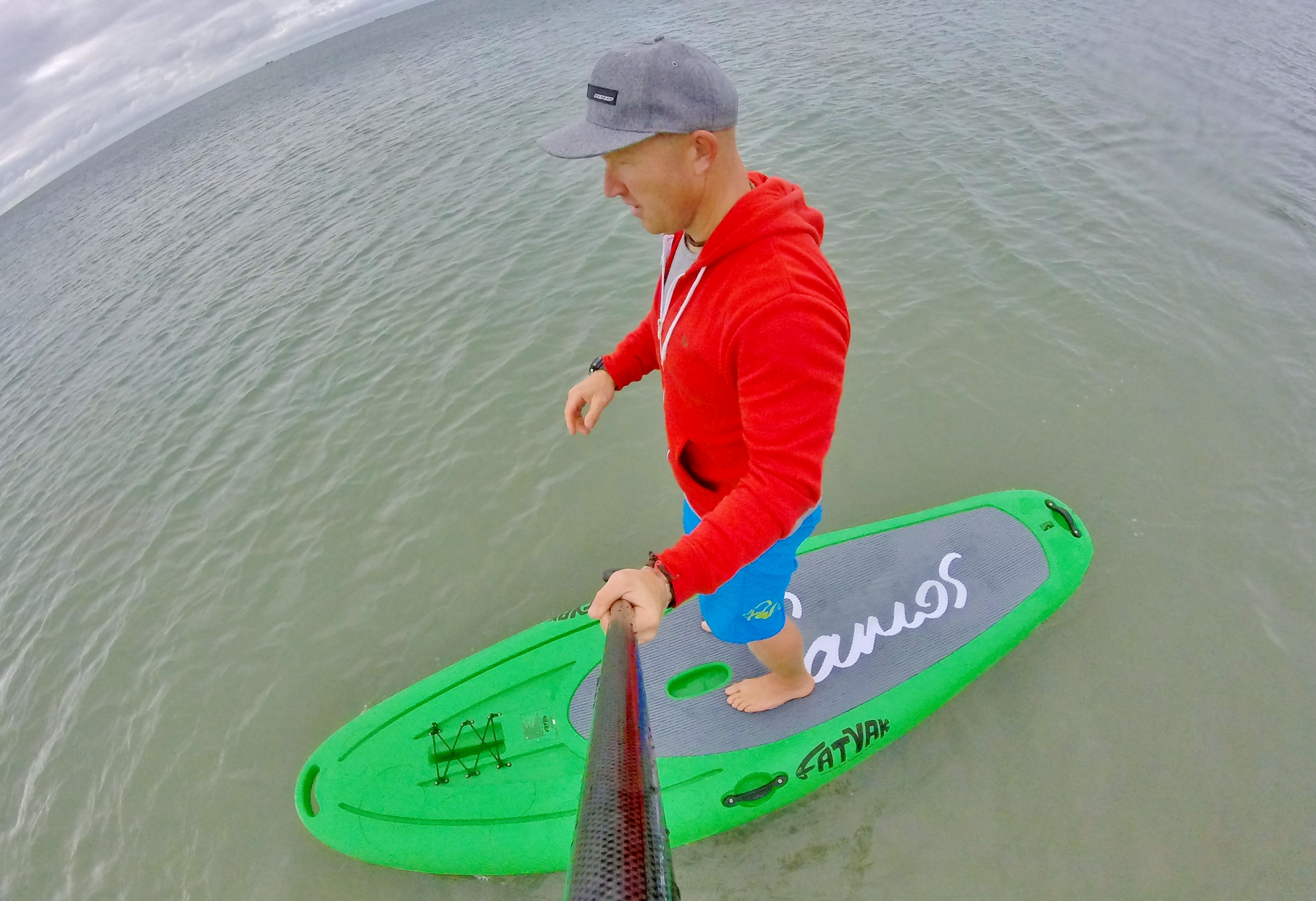 """Fatyak Samos 10' x 33"""" rotomoulded stand up paddle board review 9"""