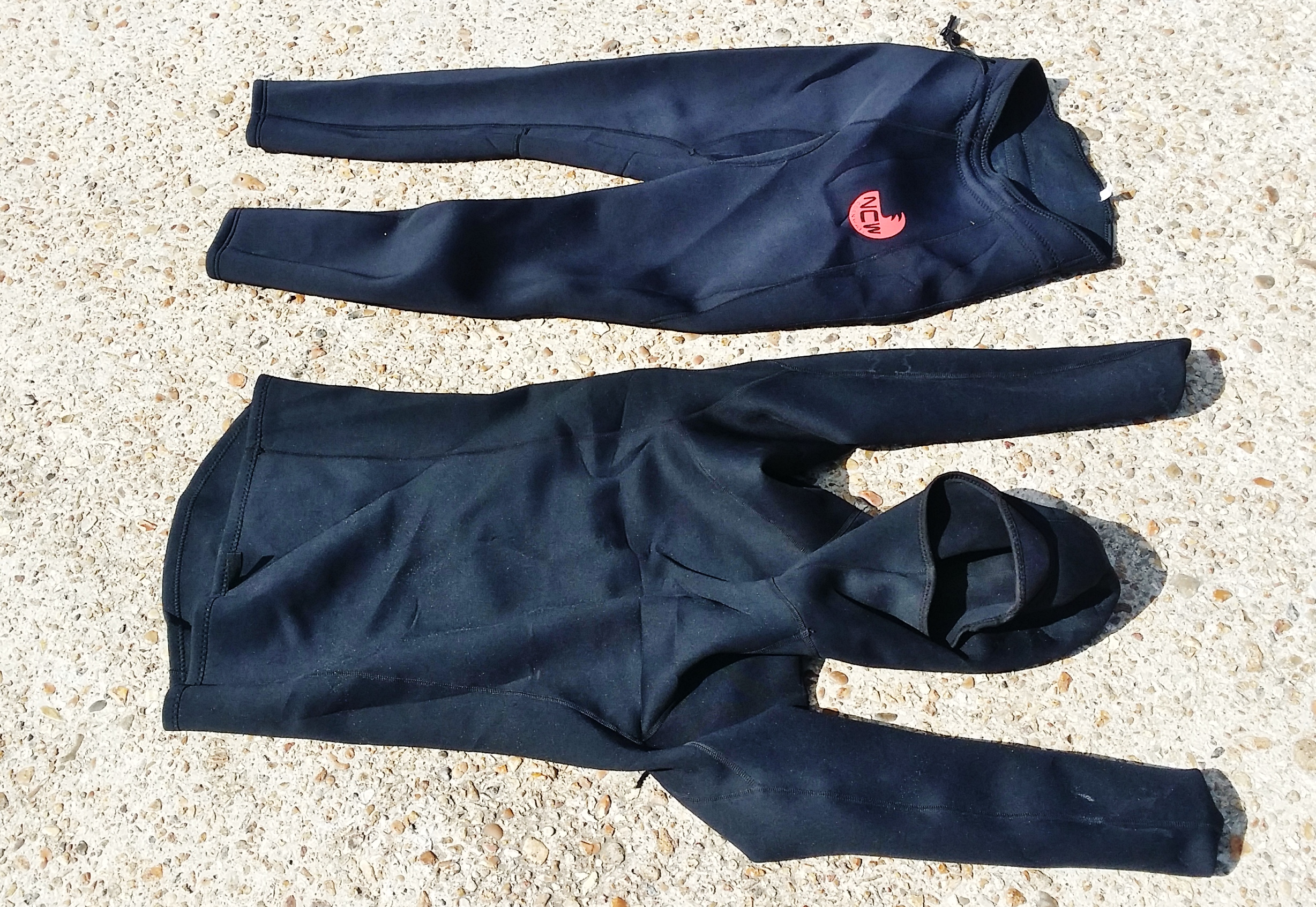 North Coast Wetsuits leggings and thermal rashvest review 1