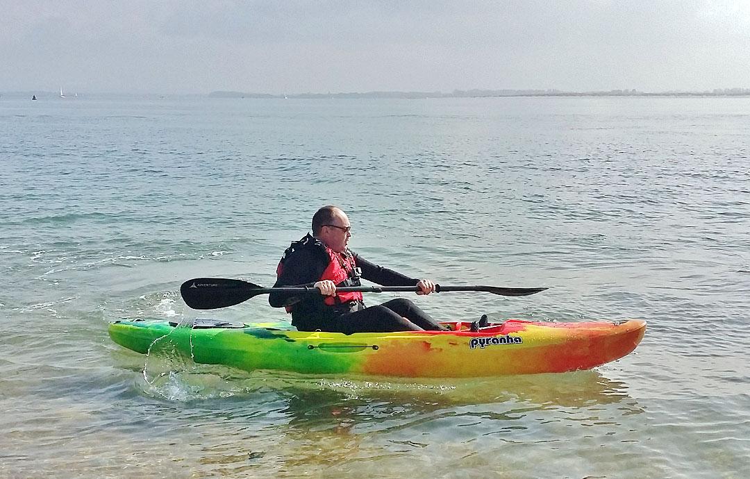 Pyranha Fusion SOT kayak 1
