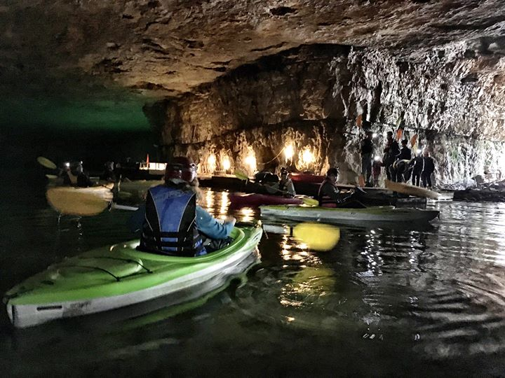 Cave Kayaking and Camping