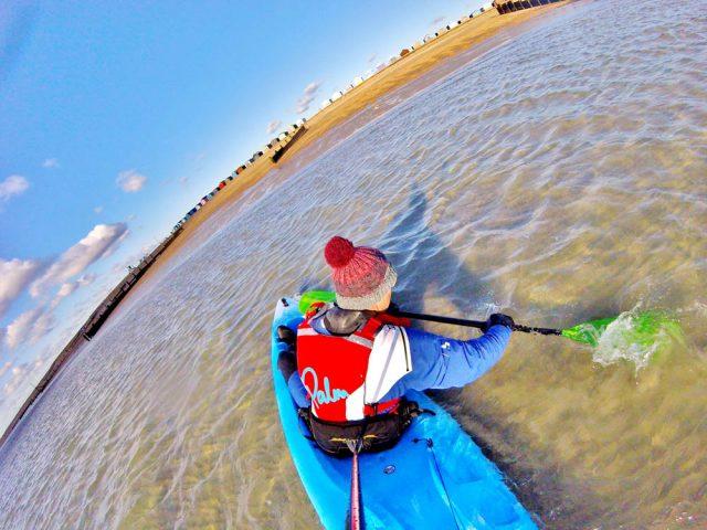 pyranha surf jet kayak