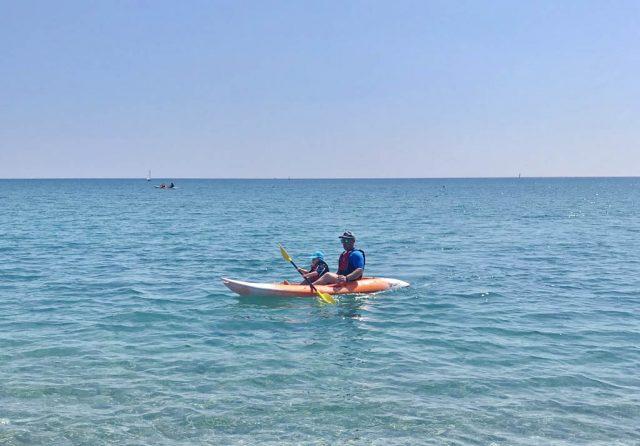 Airone Beachclub Kayak Hire