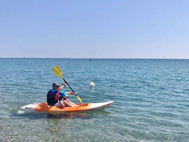 Airone Beachclub Kayaking