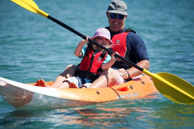 Airone Beachclub Kayaking Family Italy
