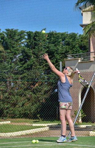 Airone Beachclub Tennis Green